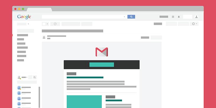 Send HTML email via Gmail