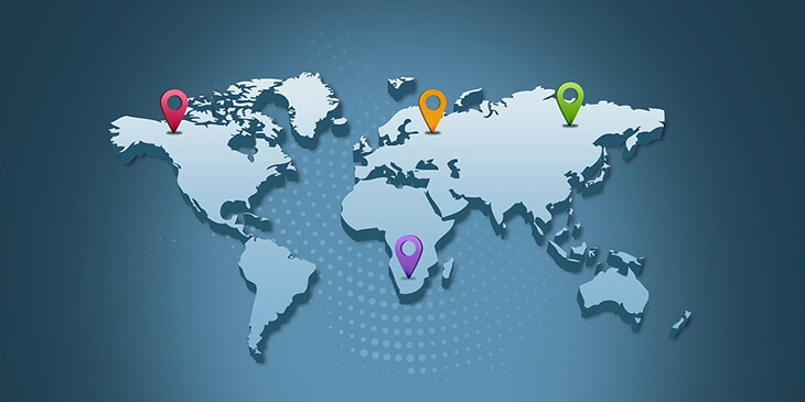 Segment your contact list based on geolocation tracking.