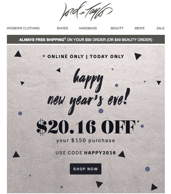 Holiday Email Templates 2020