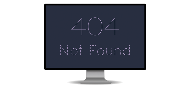Fix every 404 error page